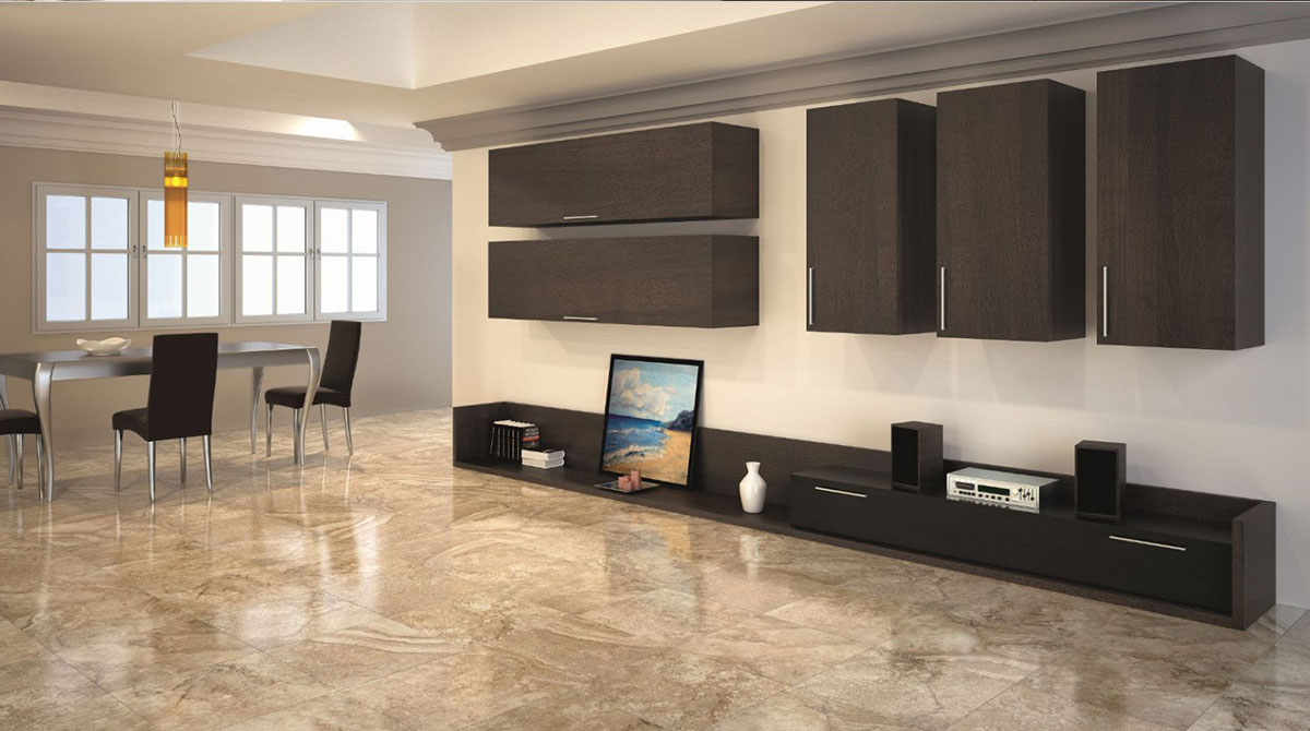 Achieve Refined, Polished And Genteel Look At All Times. Office Floor Tiles