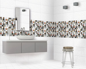 Glossy/satin Wall Tiles 600 x 300